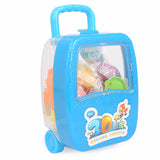 Luggage Clay Box For Kids - Blue