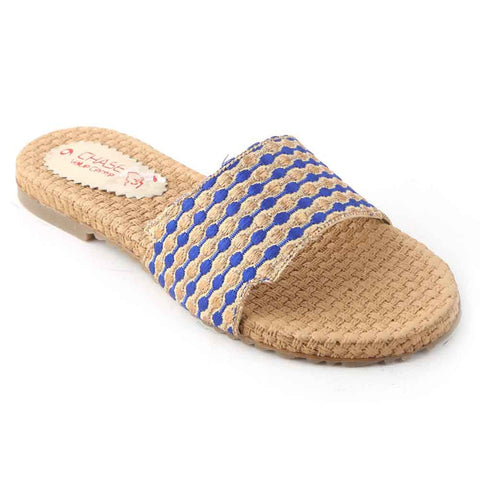 Women's Slipper (1056) - Navy Blue