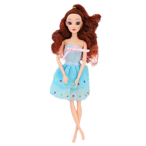 Barbie Doll With Accessories - Multi