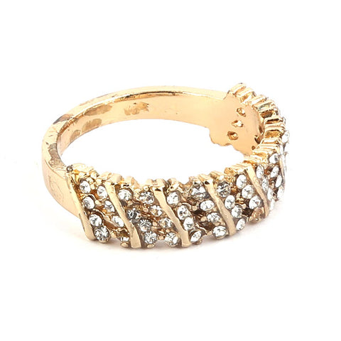 Women's Finger Ring - Golden