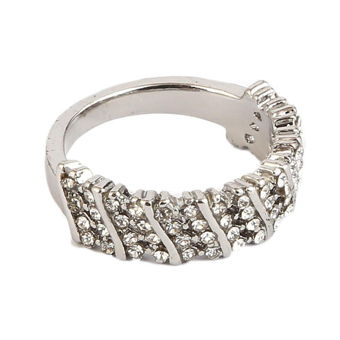 Women's Finger Ring - Silver