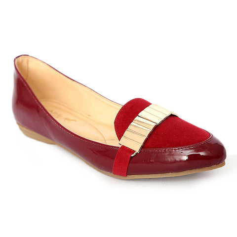 Women's Fancy Pumps (436) - Maroon