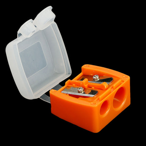 Pencil Sharpener 2 in 1 - Orange
