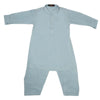 Boys Kurta Shalwar Suit - Steel Blue