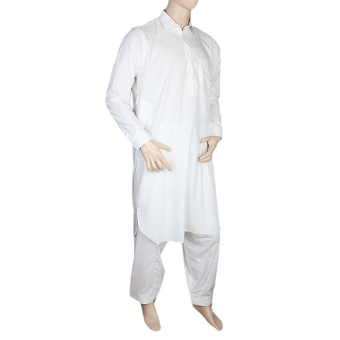 Eminent Kameez Shalwar For Men - Off White