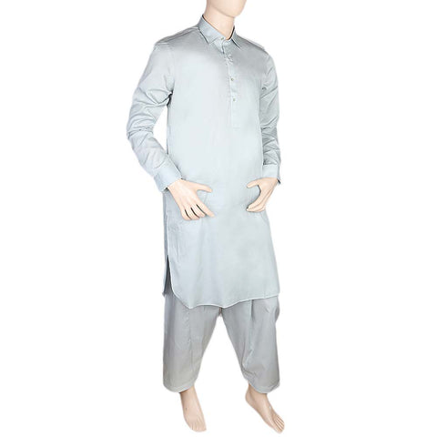 Eminent Kameez Shalwar For Men - Light Grey