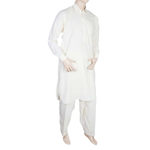 Eminent Kameez Shalwar For Men - Cream