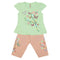 Girls Lycra Suit - Green
