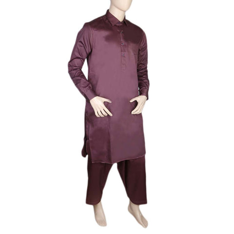 Eminent Kameez Shalwar For Men - Maroon