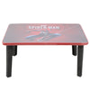 Spider-Man Multipurpose Foldable Wooden Study Table - Red