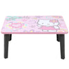 Hello Kitty Multipurpose Foldable Wooden Study Table - Pink