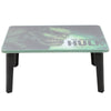 Hulk Multipurpose Foldable Wooden Study Table - Green