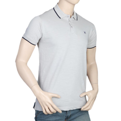 Men's Eminent Half Sleeves Polo T-Shirt - Grey