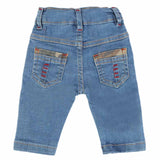 Newborn Boys Denim Pant - Light Blue