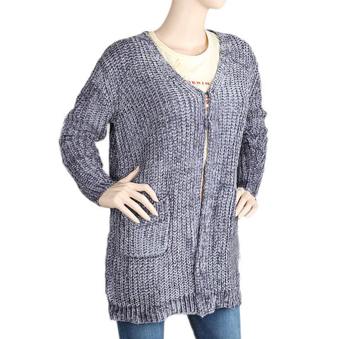 Eminent Full Sleeves Sweater For Women (1775) - Grey