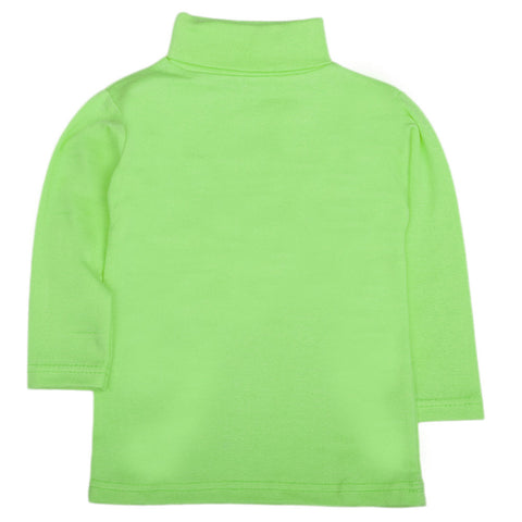 Boys Full Sleeves High-Neck - Green