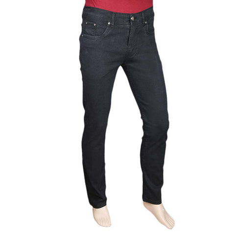 Men's Slim Fit Jeans Pant - Black