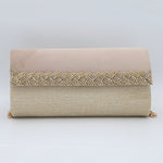 Women's Fancy Clutch 6804 - Fawn