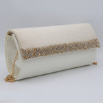 Women's Fancy Clutch 6804 - White