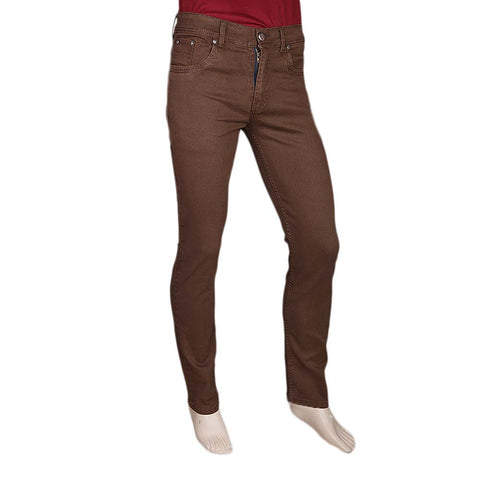 Men's Slim Fit Jeans Pant - Dark Brown