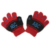 Kids Woolen Gloves - Red