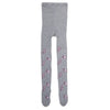Girls Printed Leggings - Grey