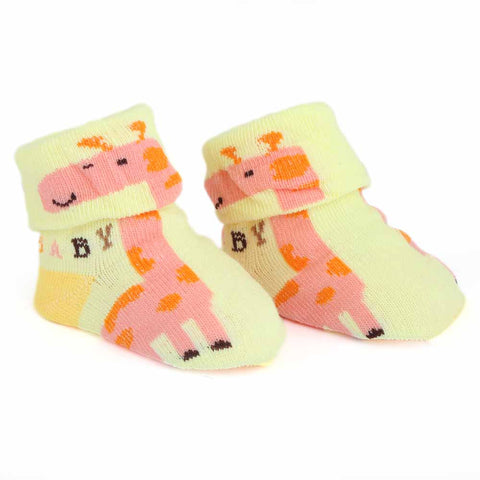 Newborn Booties - Yellow