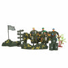 Warfare Military Set - Dark Green