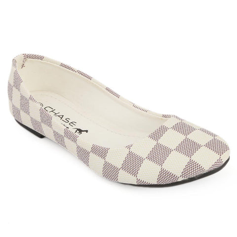Women's Fancy Pumps - White