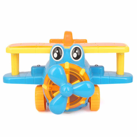 Battery Operated Plane For Kid - Blue