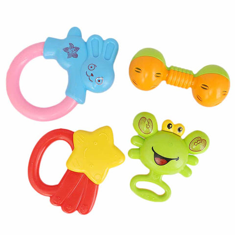 Rattle Toy Set 4 Pcs
