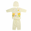 Newborn Boys Full Sleeves Suit - Yellow