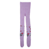 Girls Printed Leggings - Light-Purple