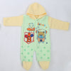 Newborn Boys Polar Romper - Green