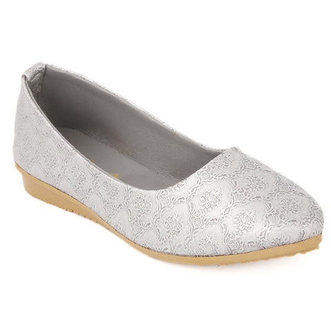 Girls Fancy Pumps - Grey