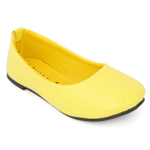 Girls Fancy Pumps - Yellow
