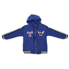 Boys Hooded Jacket - Royal-Blue