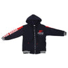 Boys Hooded Jacket - Navy-Blue