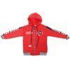 Boys Hooded Jacket - Red