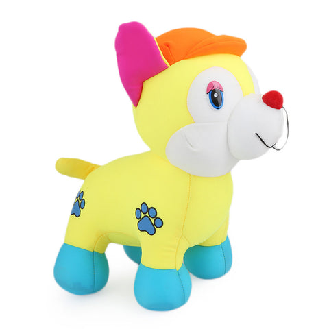 Stuffed Soft Been Dog Toy - Yellow - test-store-for-chase-value
