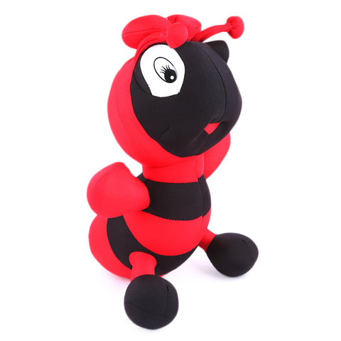 Stuffed Soft Been Honey Bee Toy - Red - test-store-for-chase-value