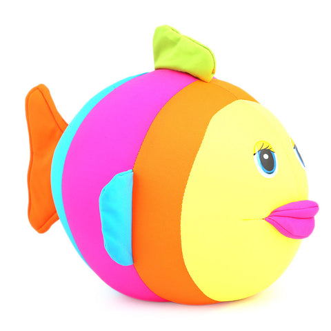 Stuffed Soft Been Fish Toy - Multi - test-store-for-chase-value