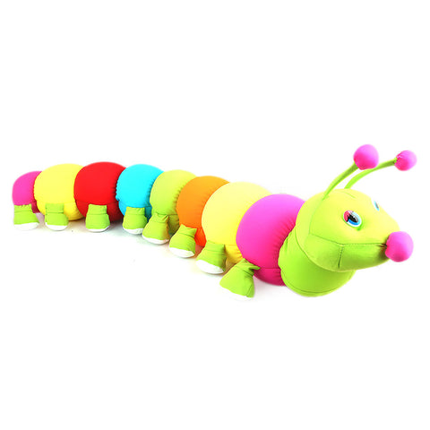 Stuffed Soft Been Caterpillar Toy - Multi - test-store-for-chase-value