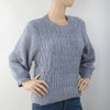 Women's Short Length Sweater (EE1) - Grey