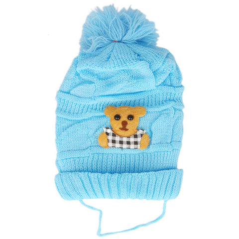 Newborn Winter Cap - Blue