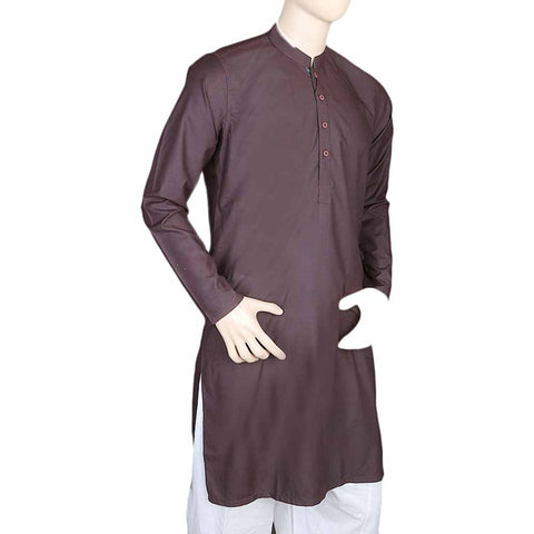 Mashriq Fancy Kurta For Men - Maroon