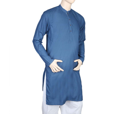 Mashriq Fancy Kurta For Men - Blue