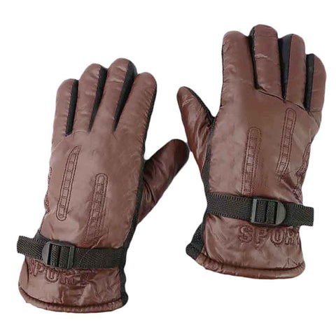Men's Gloves - Brown