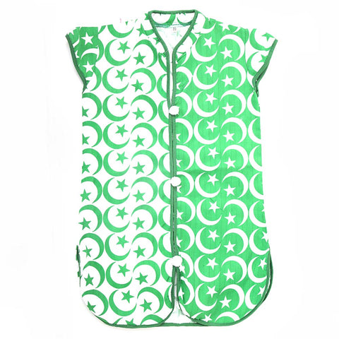 Girls Kurti For 14 August - Green