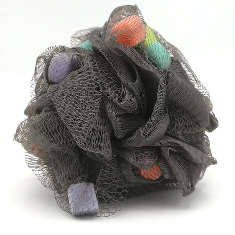 Ellora Loofah Bath Sponge - Dark Grey